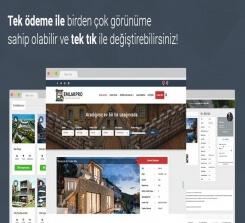 Wordpress Emlak Pro Tema